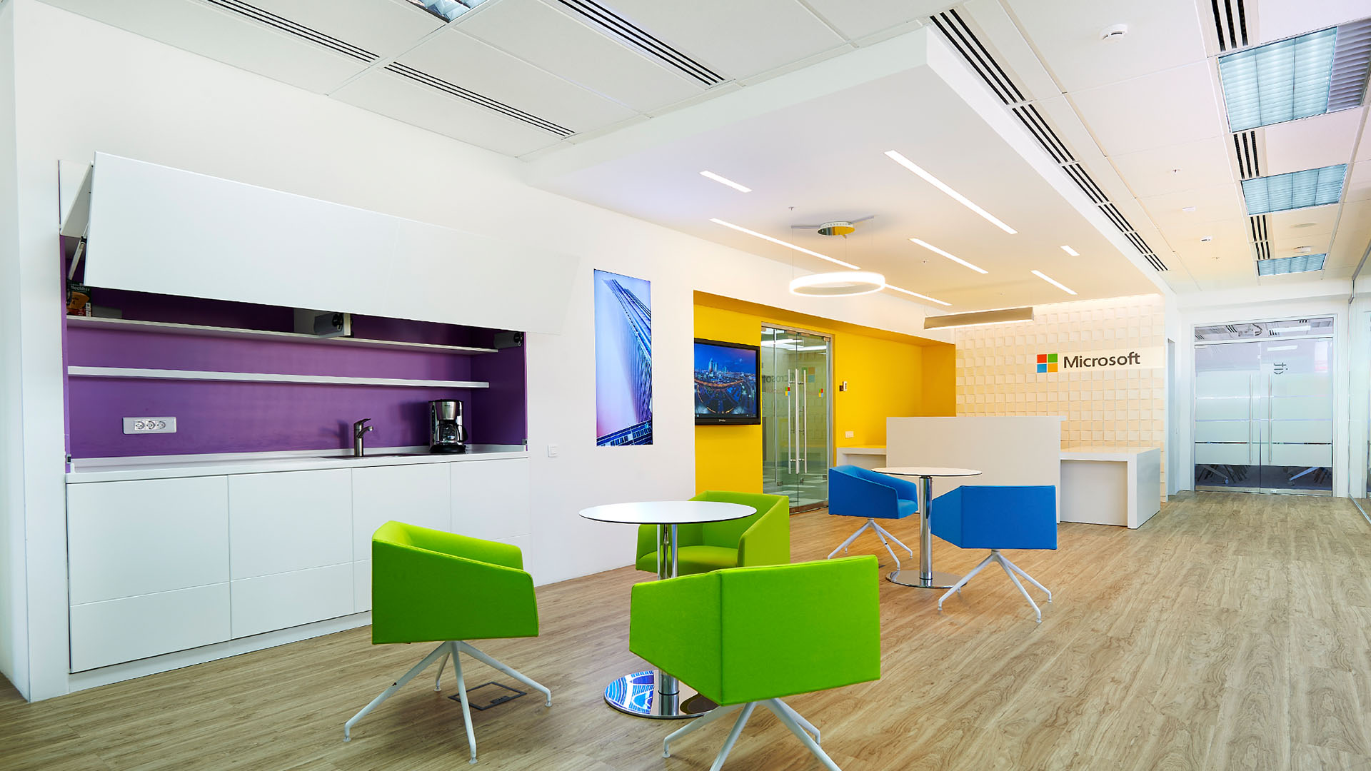 Microsoft Astana | Office & Workplace | AHR | Architects and ...
